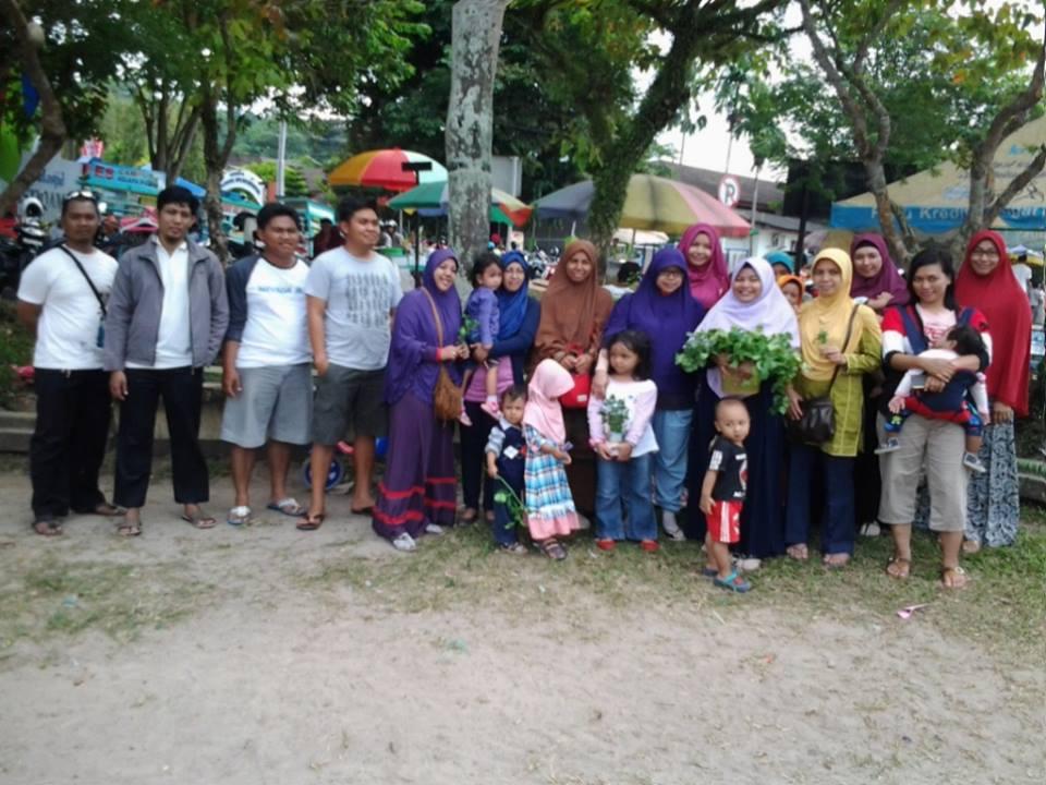 Hidroponik Balikpapan Gathering di Lapangan Merdeka