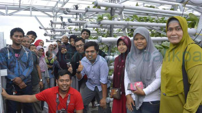 Kopdar ke 2 Hidroponik Balikpapan Rumah Hijau di GH Gunung Kawi